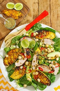 Grilled Mango and Chicken Salad