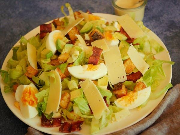 Air Fryer Caesar Salad LS TENINA