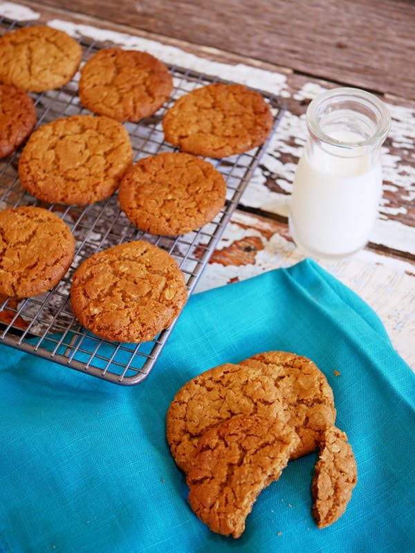 Anzac Biscuits Fotor