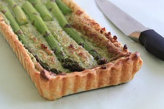 Asparagus-Tart-with-Ricotta-and-Walnuts