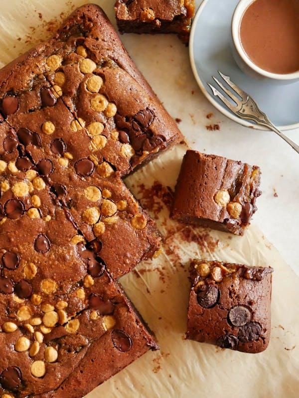 Banoffee Brownies P TENINA