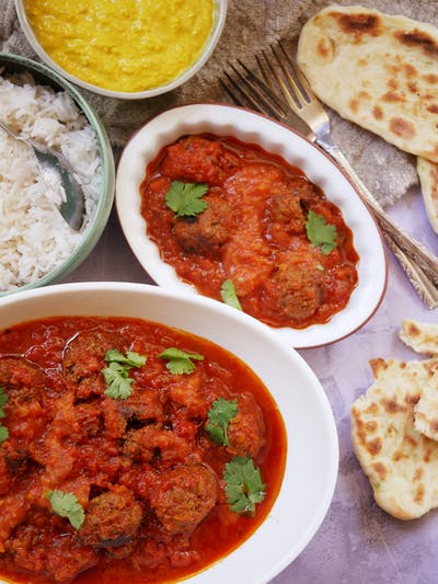 Indian Kofta Curry
