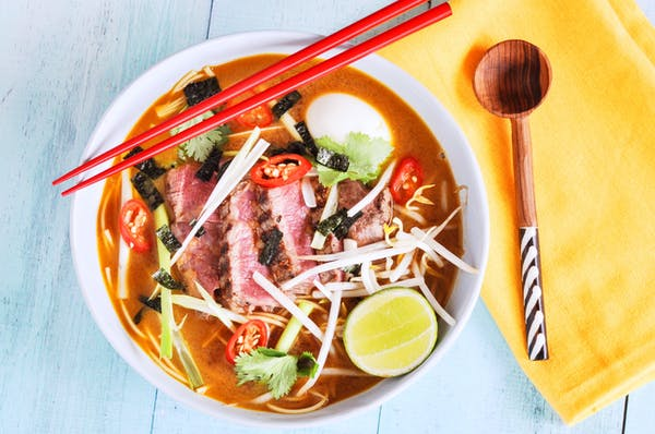 Beef Ramen Noodle Bowls Fotor