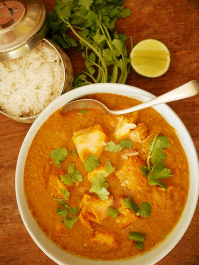 Bengali Salmon Curry