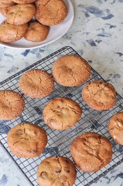 Brown Butter Cookies, 3 Ways