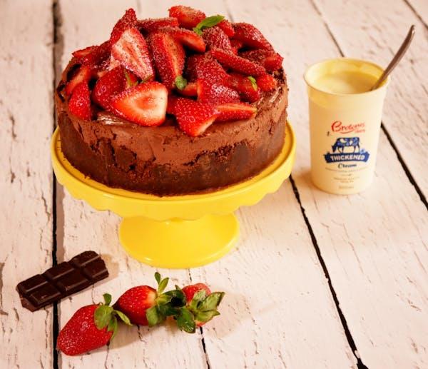 Brownes Chocolate Cheesecake1 Fotor