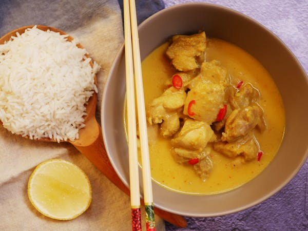 Cambodian Amok Chicken Curry LS Thermomix