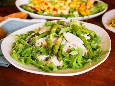 Chicken Quinoa Salad with Asparagus