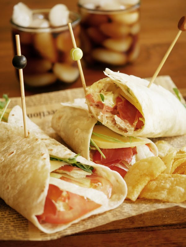 Chicken Club Wrap Sandwich TENINA