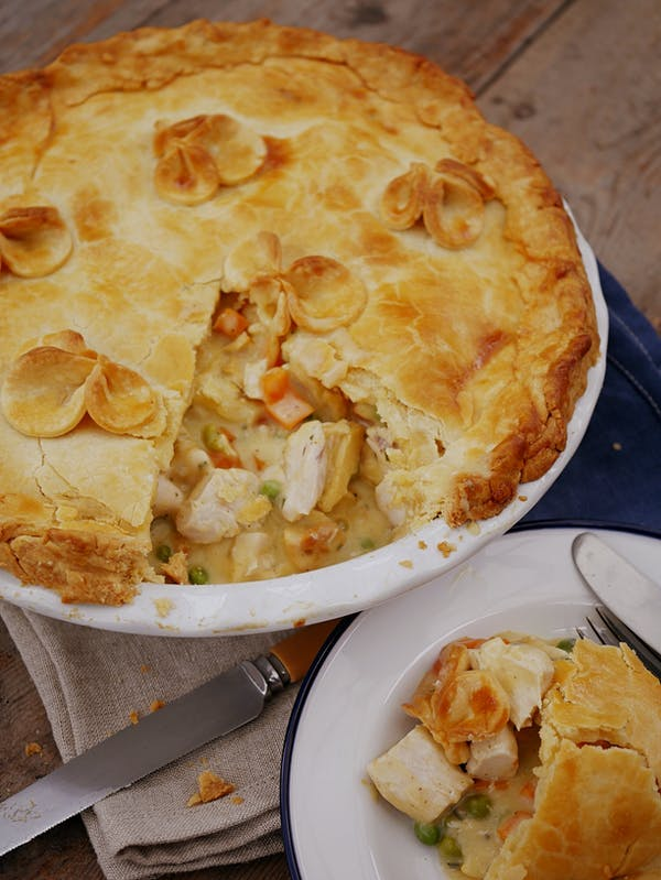 Chicken Tarragon Pie P Thermomix