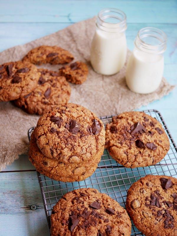 Chocolate Chunk Cookies Fotor