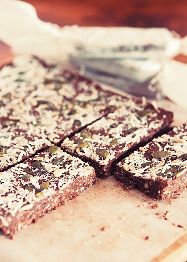 Chocolate Coconut Protein Bars TENINA