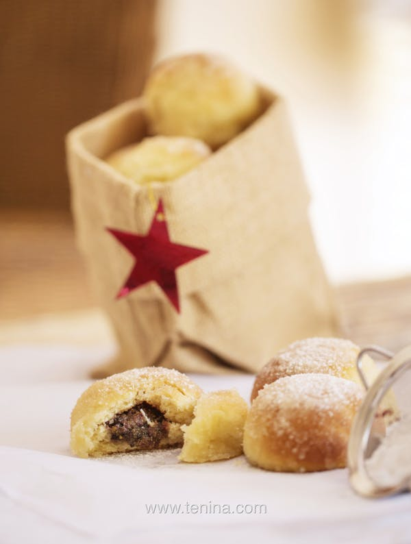 Christmas-Baked-donuts