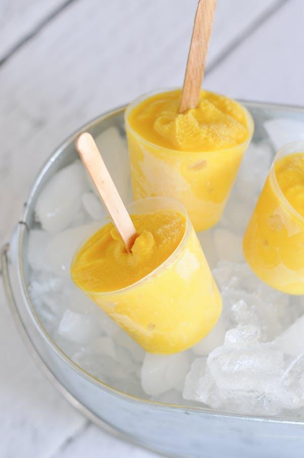 Citrus Turmeric Sorbet Pops