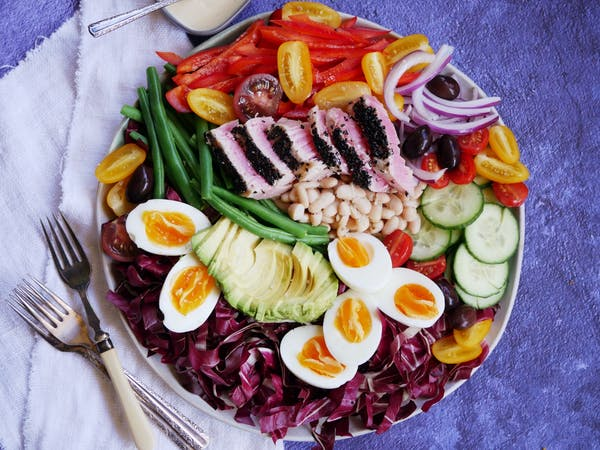 Confit Tuna Salad with Beans LS TENINA