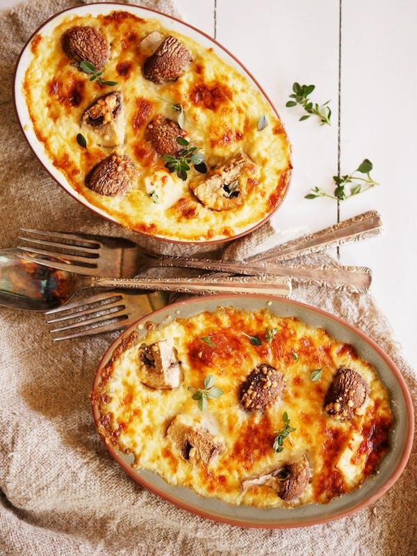 Crustless Mushroom Quiche 1 Air Fryer