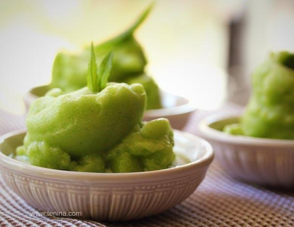 Cucumber-Mint-Sorbet