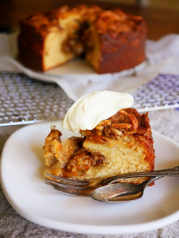 Danish Apple Cake Slice P Thermomix