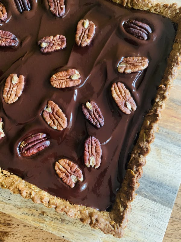 Dark Chocolate Ganache Tart P