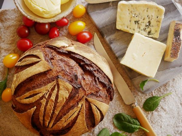 Dark Rye Sourdough Loaf LS TENINA