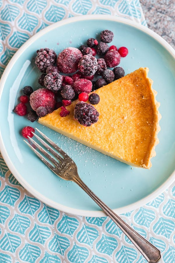 Easy Lemon Tart Thermomix