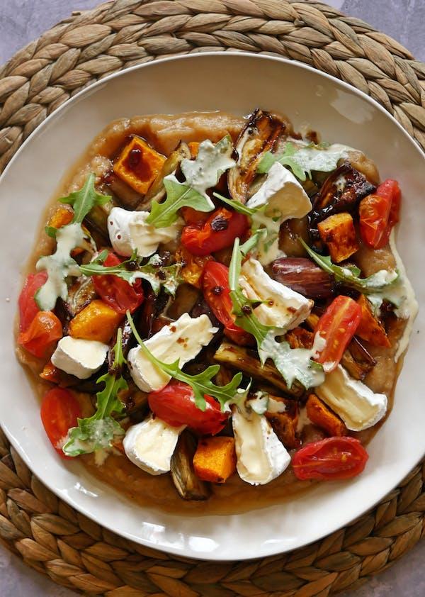 Eggplant and Pumpkin Salad OH LS TENINA