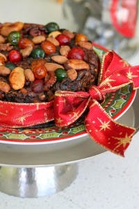 Festive Steamed Christmas Cake(s)