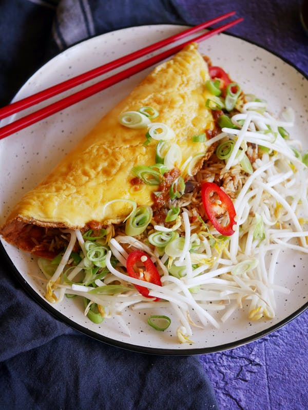 Fried Rice Omelette P Thermomix