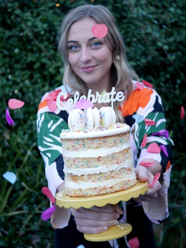 Funfetti Celebration Cake Confetti Fotor