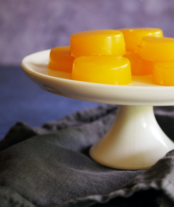 Ginger Turmeric Jelly Gummies Fotor