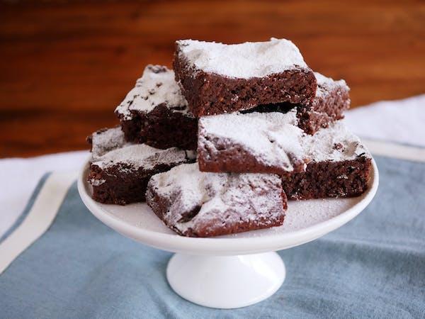 Gluten Free Chocolate Brownies LS Fotor