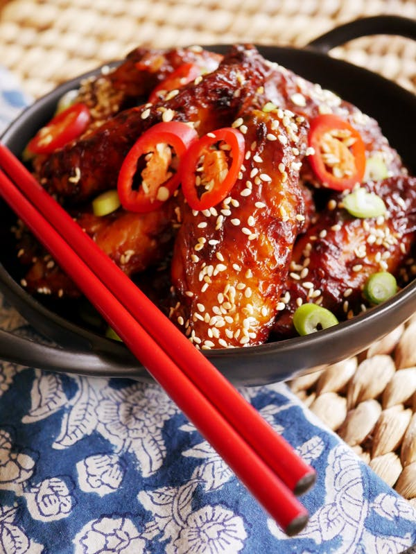 Honey Soy Chicken Wingettes P Thermomix