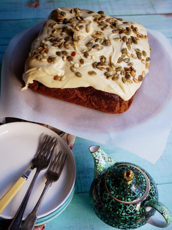 Ian Curleys Carrot Cake 1 Fotor