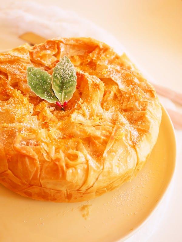 Italian Ricotta Cheesecake angle P Thermomix