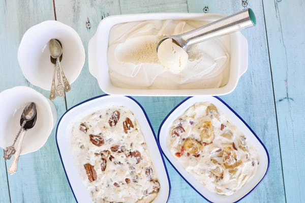 Killer Vanilla Meringue Ice Cream With Variations