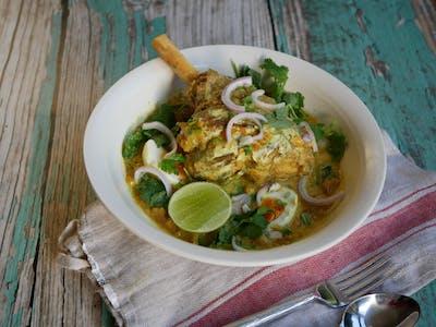 Lamb Shank Coconut Curry