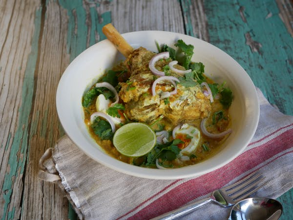 Lamb Shank Coconut Curry