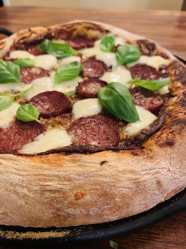 Lazy Sourdough Pizza Base