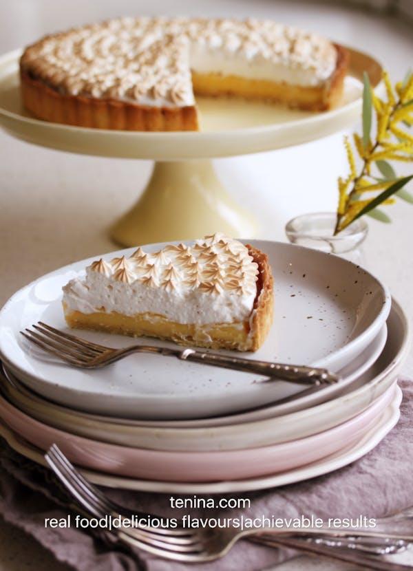 Lime Meringue Pie Slice Out Fotor