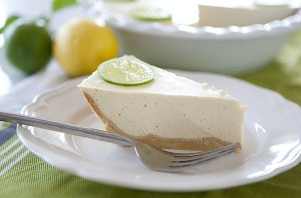 Lime Mousse Pie LS