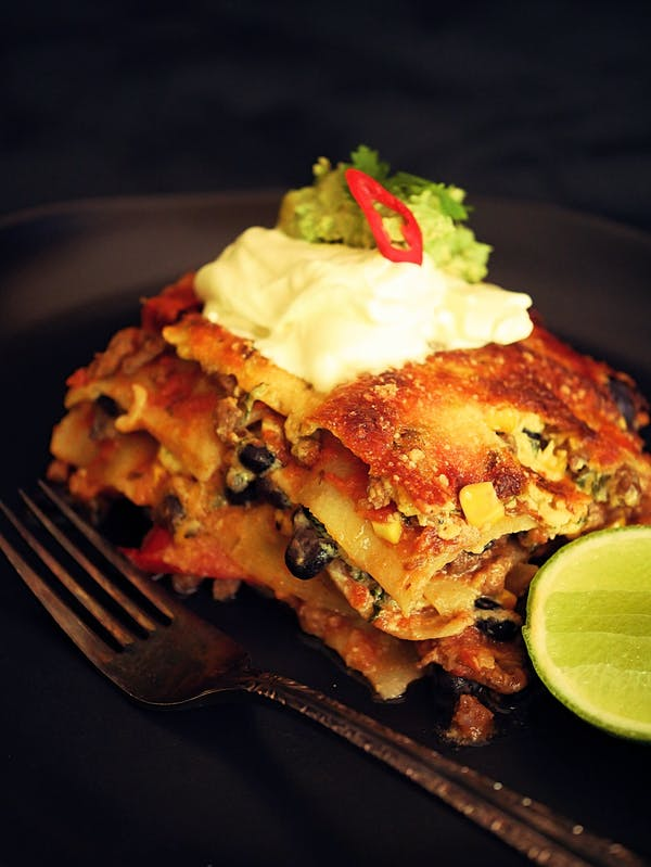 Mexican Lasagne P Thermomix