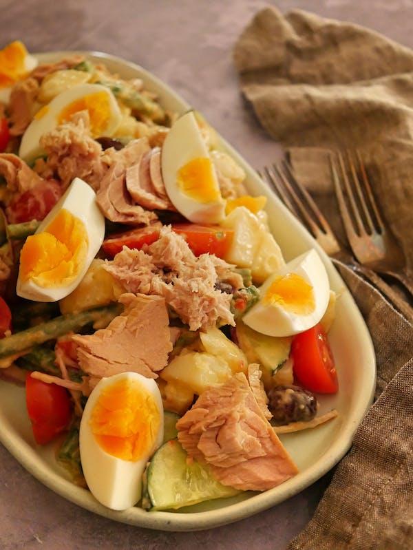 Nicoise Salad P Fotor