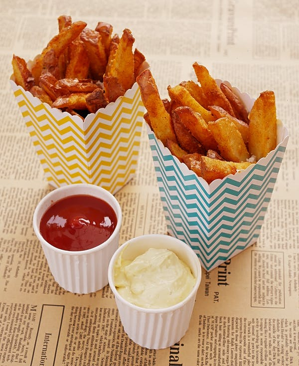 Oven Fries With Aioli P Fotor