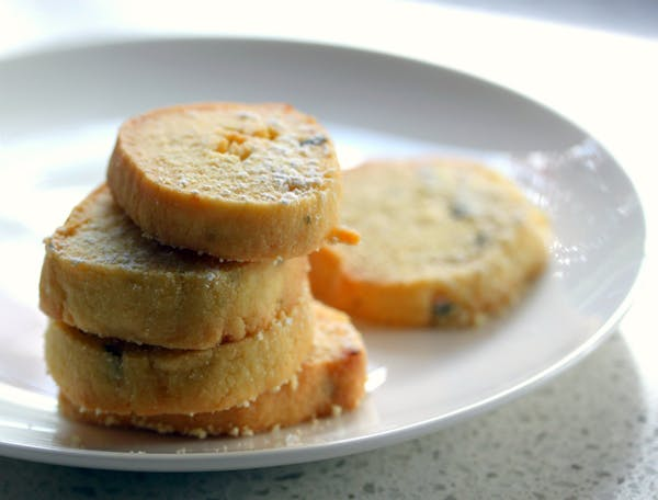 Passionfruit Lime Shortbread
