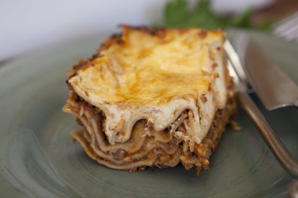 Quinoa And Mushroom Lasagne