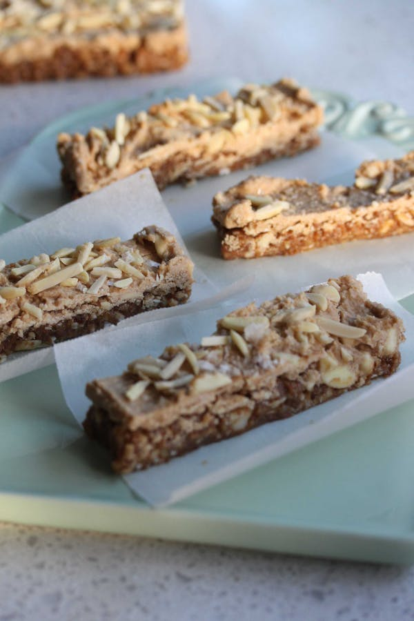Raw Caramel Coconut Bars
