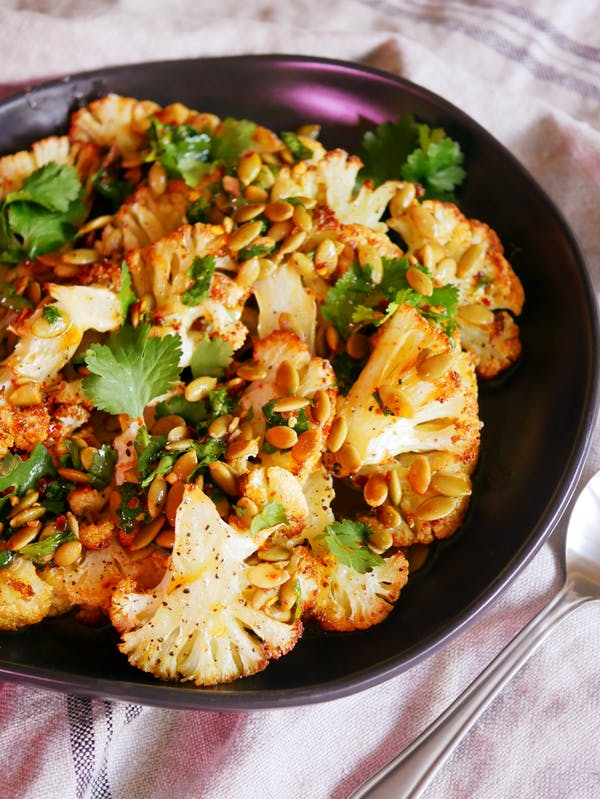 Roasted Cauliflower Salad with Browned Butter P TENINA