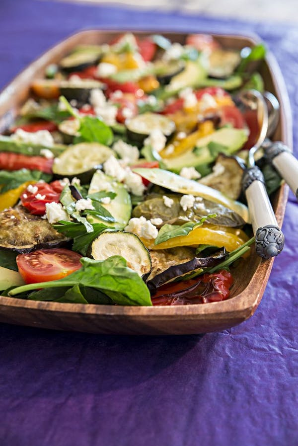 Roasted-Mediterranean-Veggie-Salad