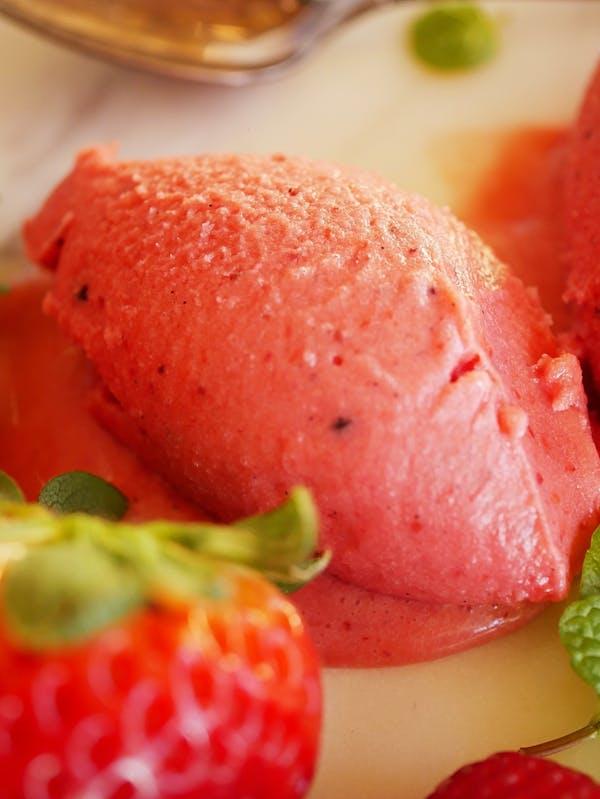 Roasted Strawberry Sherbert ECU P TENINA