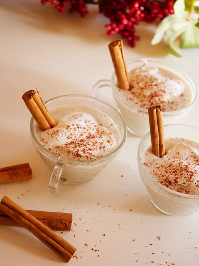 Smoked Spiced Christmas Eggnog